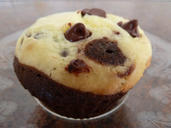 Black Bottom Cupcakes Made With Cake Mix
