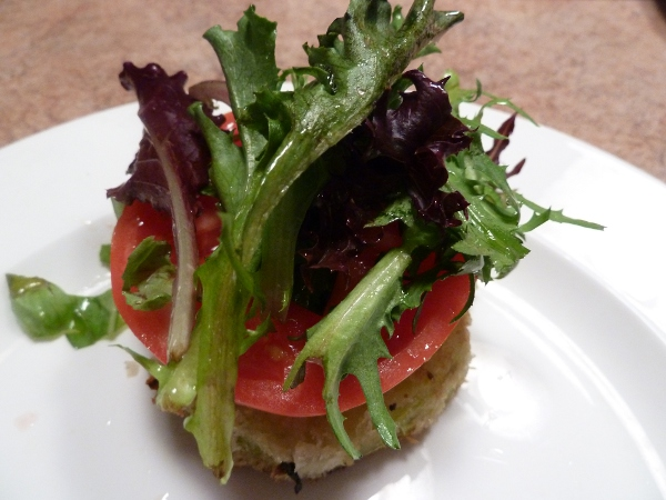 Fried Green Tomato Salad - Dunlop Brothers Family Cookbook