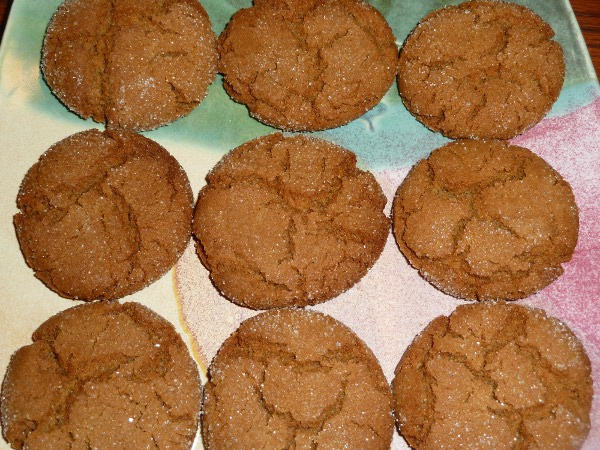 Molasses Sugar Cookies - Recipe | Cooks.com